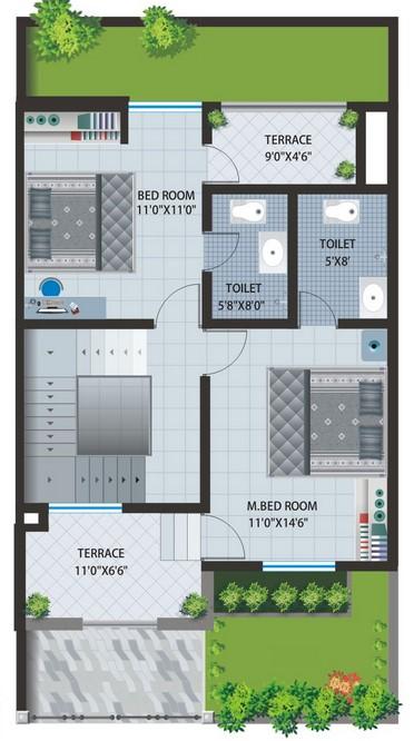 Prinsip pembuatan denah-denah rumah